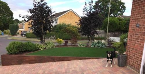Artificial grass installation