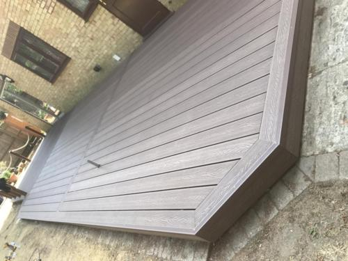 Composite decking install